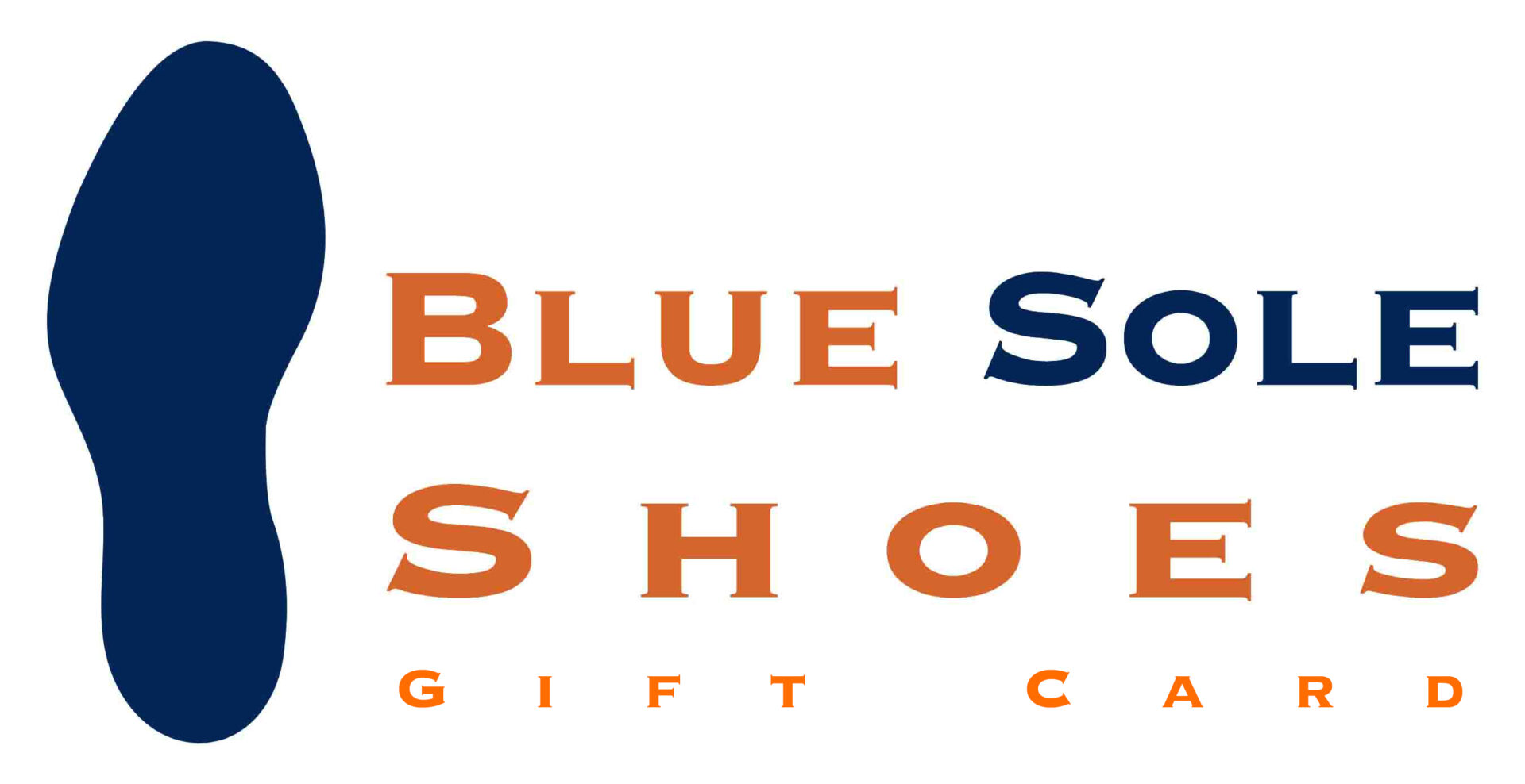 Blue Sole Shoes Gift Card